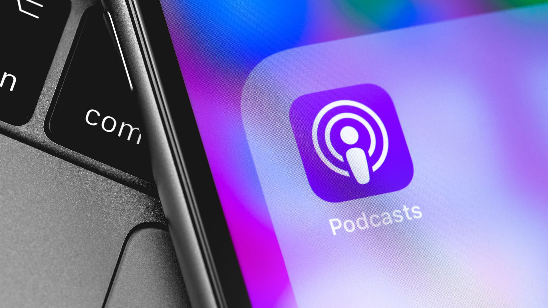 Podcast App klein